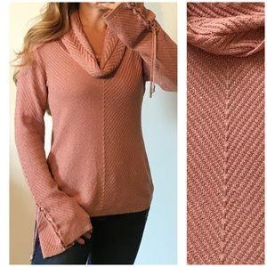WHBM Cozy Stitch Boho Pullover Sweater Medium